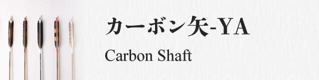 カーボン矢-YA