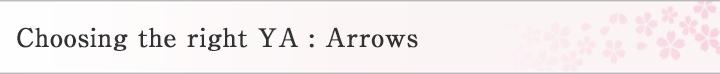 Choosing the right YA : Arrows