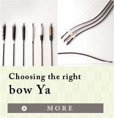 Choosing the right bow Ya