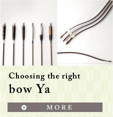 Choosing the right bow Ya