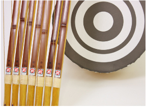 日本の武道、弓道